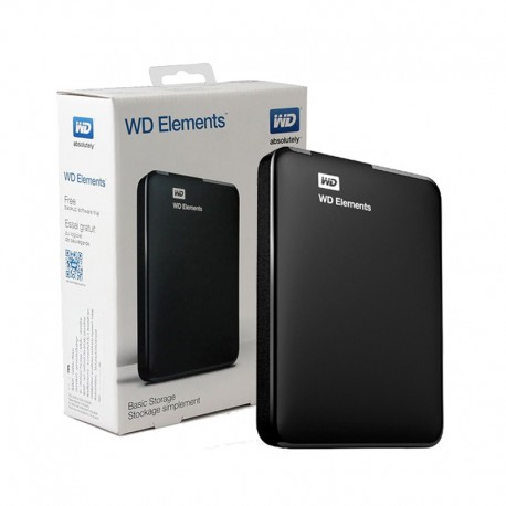 DISCO EXTERNO WD 2TB USB 3.0 NEGRO