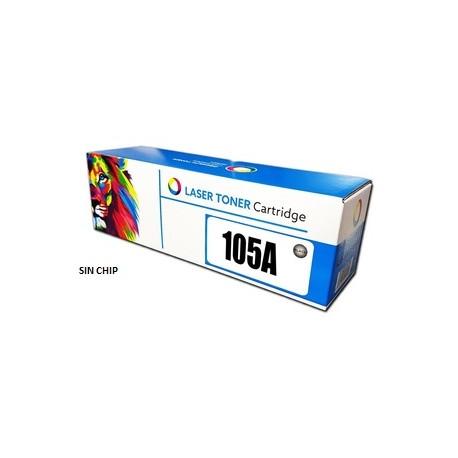 TONER LASER ALTERNATIVO HP105A/107W/135W  SIN CHIP