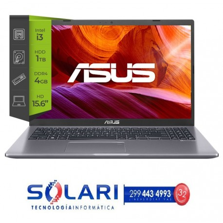 NOTEBOOK ASUS I3-1005G1 4GB/1TB/15.6 PULGADAS