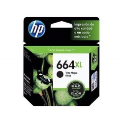 CARTUCHO HP 664XL ALTO RENDIMIENTO  NEGRO