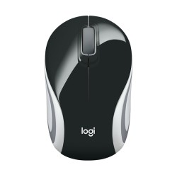 Mouse Logitech M187 Wireless Mini Optico Negro