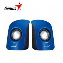 Parlantes Genius Estéreo Usb Azul P/pc Sp-u115