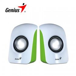 Parlantes Genius Sp-u115 Estereo 1.5w Usb Green / White