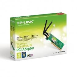 Placa de red Inalámbrica PCI N 300Mbps TP-LINK